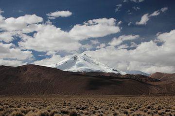 Altiplano, Anden, Bolivien, Vulkan von A. Hendriks