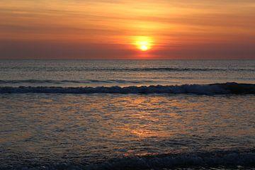 Sonnenuntergang Strand von Silke bakker