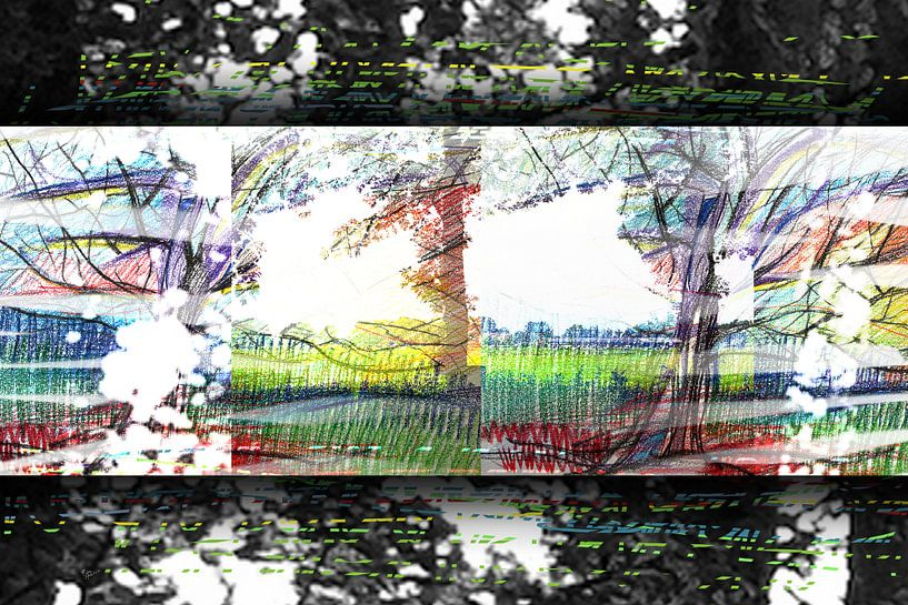 Bäume in Bewegung von ART Eva Maria