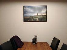 Klantfoto: Vuurtoren Texel van Rudie Knol, op canvas