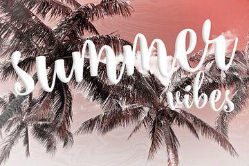 PALM TREES Summer Vibes van Melanie Viola