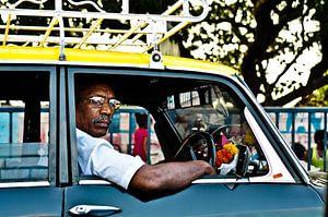 taxi driver van