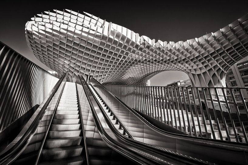 Metropol Parasol (Seville) van Alexander Voss