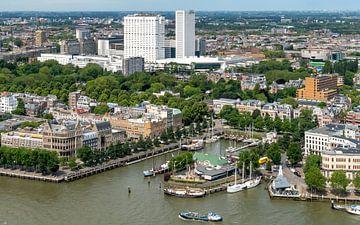 Rotterdam van boven van Arie Jan van Termeij