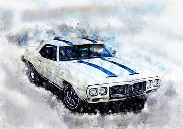 1969 Pontiac Firebird Trans Am von Theodor Decker