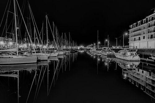 Jachthaven in Deauville (Normandie, Frankrijk)