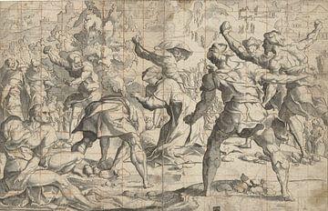 Steinigung von Stephanus, Jan van Scorel, 1505 - vor 1541