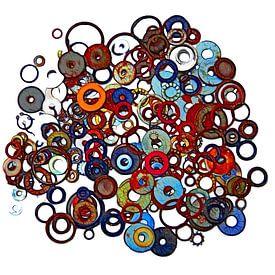 Rings (Gekleurde Ringen) van Caroline Lichthart
