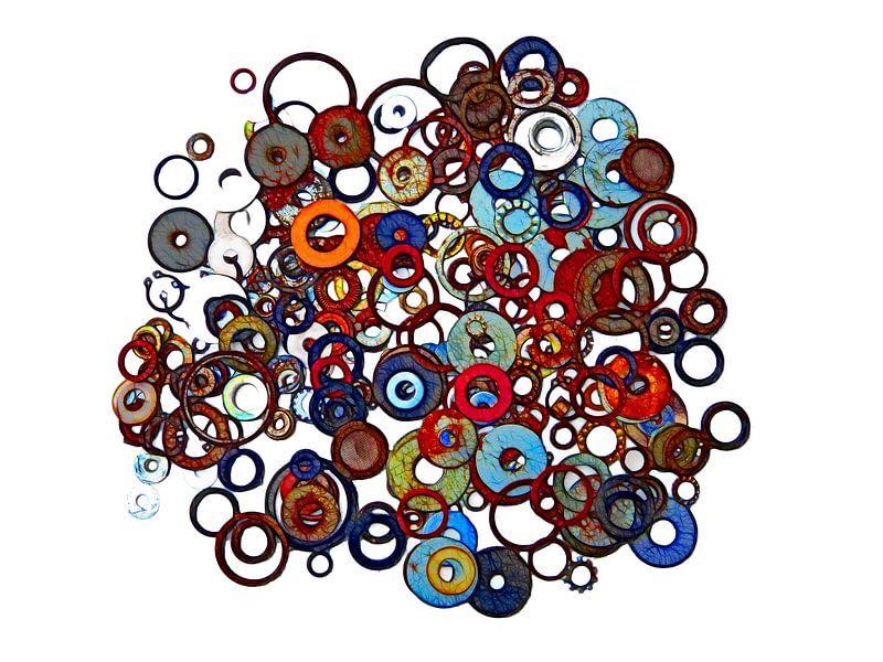 Ring (Farbige Ringe) von Caroline Lichthart