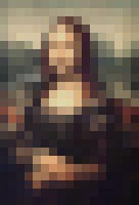 Pixel Art: Mona Lisa