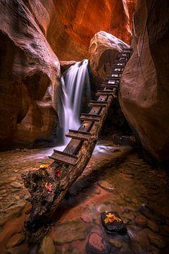 Canyon-Wasserfall