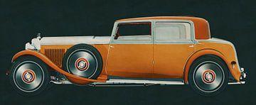 Bentley 8 Liter von 1931 von Jan Keteleer