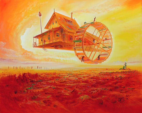 Die Luftmühle van Silvian Sternhagel