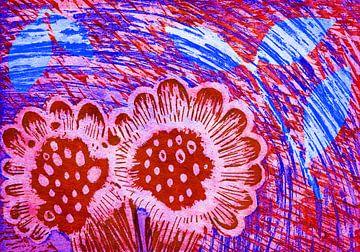 Glückliche Blumen von Godelieve Kunst