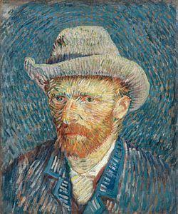 Selbstbildnis mit Filzhut - Vincent van Gogh