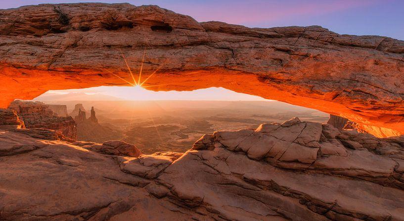 Mesa Arch, Canyonlands van Photo Wall Decoration