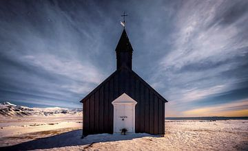 Budir Kerk IJsland van Mario Calma
