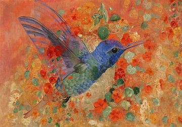 Kolibrie van Rudy en Gisela Schlechter