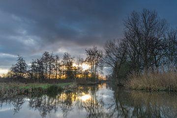 Sonnenaufgang in 't Weegje - Waddinxveen von Rossum-Fotografie