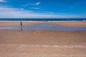 Scheveningen strand (Den Haag) van