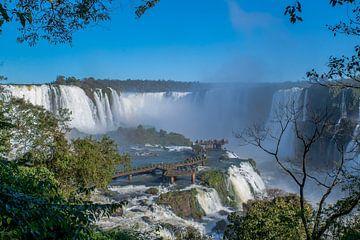 Iguazú-watervallen van Guenter Purin