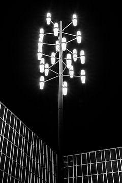 Heerlen by night van Bas Stijntjes
