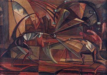 Leinwandwettbewerb - Leon Chwistek, 1919 von Atelier Liesjes