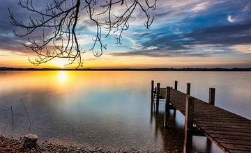 Meer van Starnberg van Einhorn Fotografie