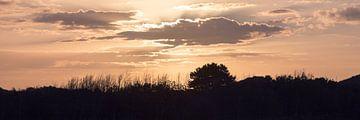 Zonsondergang van Frank Kremer