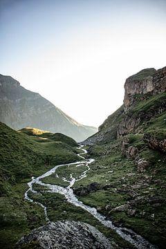 Rivier door het dal van Marlou Beimers