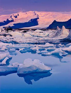 Sonnenaufgang Jokulsarlon, Island von Henk Meijer Photography