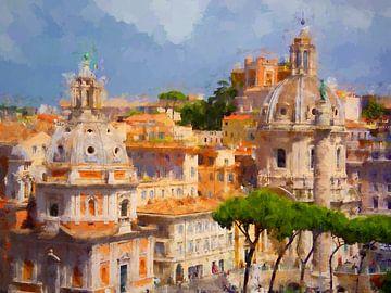 Rome van Andreas Wemmje