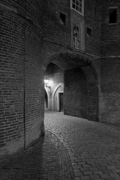 Ingang Oostpoort Delft van Anton de Zeeuw