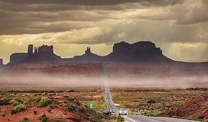 Monument Valley van Johnny van der Leelie