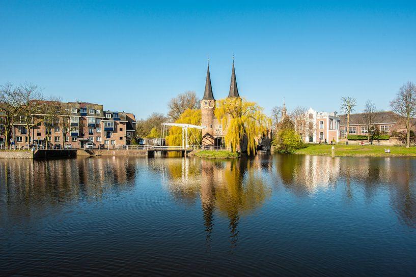 Delft Stadspoort van Brian Morgan