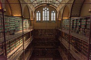 Rijksmuseum Amsterdam | Bibliothek Amsterdam | Kunstdruck