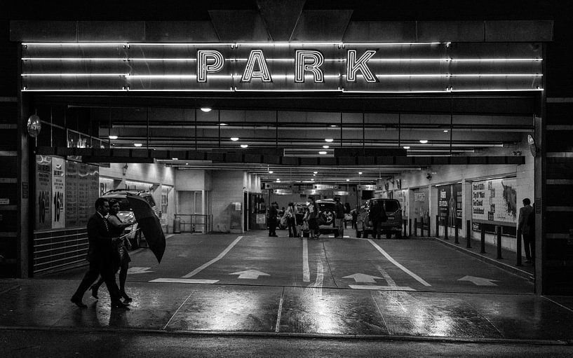 New York Parking van Capture the Light