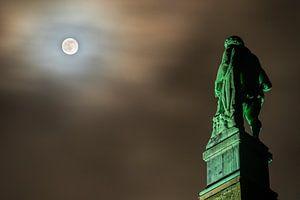 Kassel: Herkules bei Vollmond von Stephan Zaun