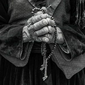 Mit gefalteten Händen von Affect Fotografie