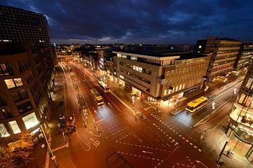 Vredenburg en St. Jacobsstraat in Utrecht sur Donker Utrecht