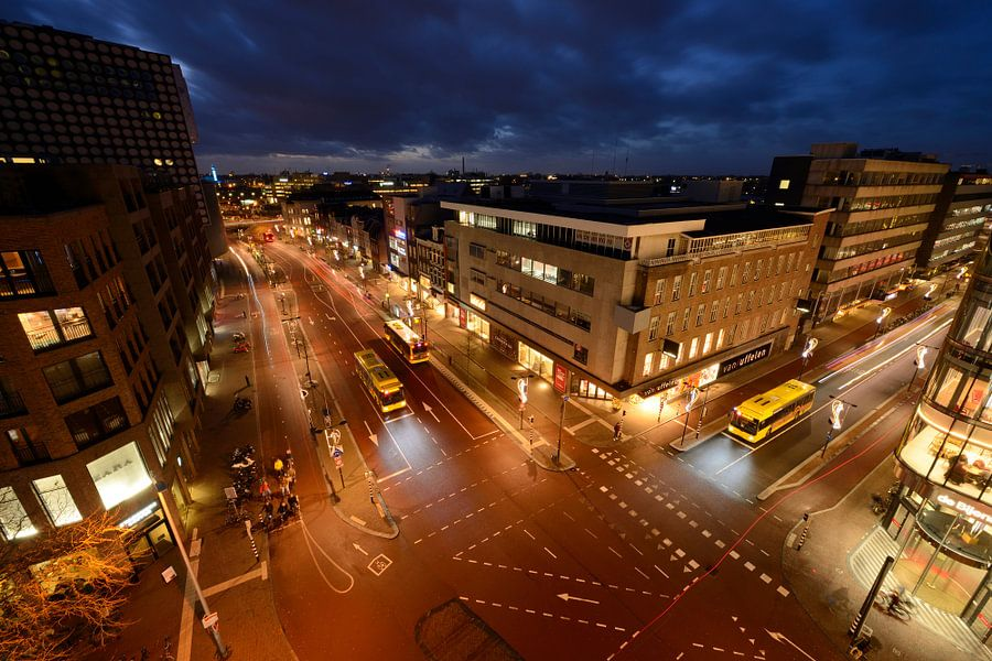 Vredenburg en St. Jacobsstraat in Utrecht van Donker Utrecht