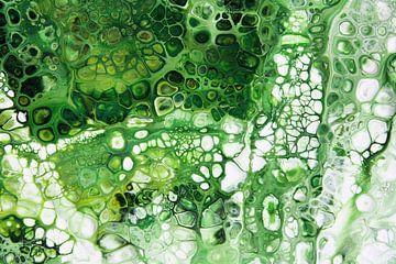 Abstrakt grün von Joke Gorter