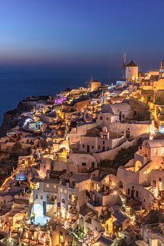 Santorini Griekenland van Achim Thomae