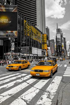 New Yorks Cabs von Hannes Cmarits