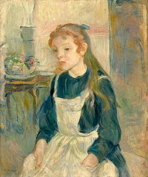 Junges Mädchen mit einer Schürze, Berthe Morisot von