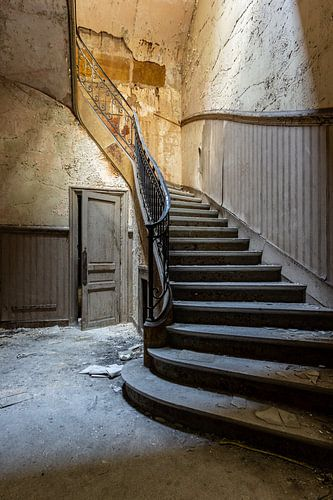 Verlaten trappen