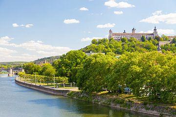 Würzburg an einem Sommertag von Jan Schuler