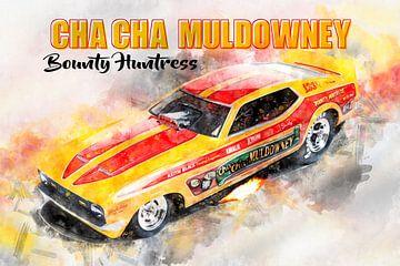 ChaCha Muldowney, Bounty Huntress met titel van Theodor Decker