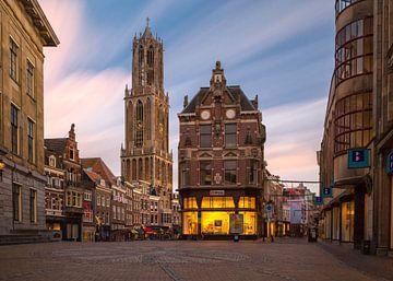 Utrecht - Stadhuisplein van