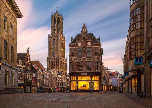 Utrecht - Stadhuisplein van Thomas van Galen
